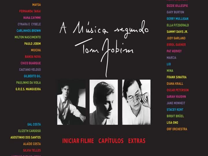 Biaxar Documentário A Música Segundo Tom Jobim DVD-R