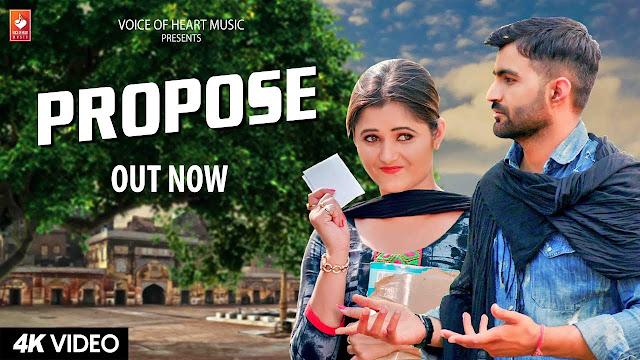 Propose | Amit Dhull | Anjali Raghav lyrics song