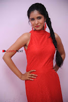 Kannada Actress Chaitra in Red Dress at Damki Damar Movie Audio Release  0003.jpg