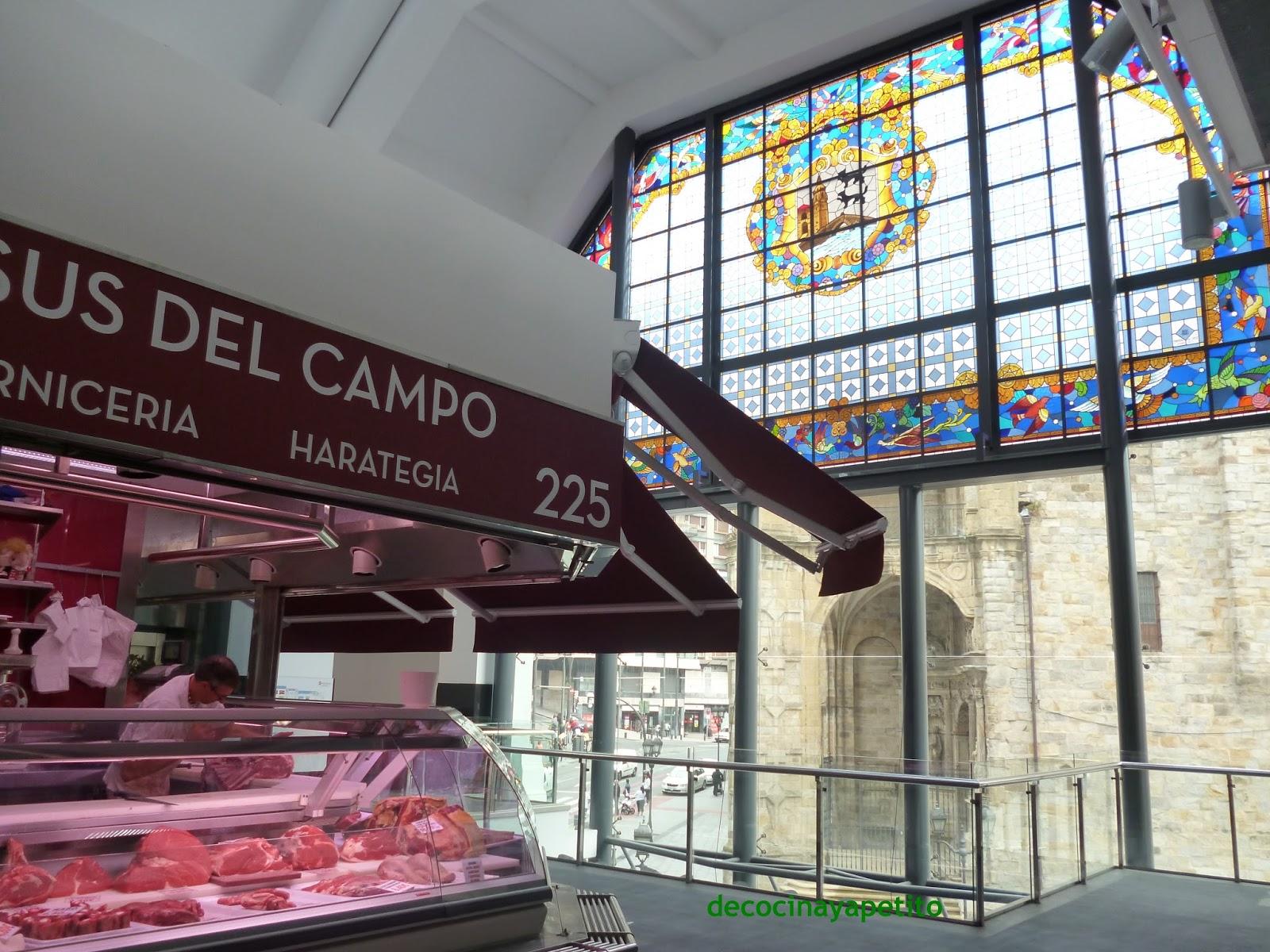 Cocinando con Vicky, recetas de cocina: Mercado de La Ribera- BILBAO