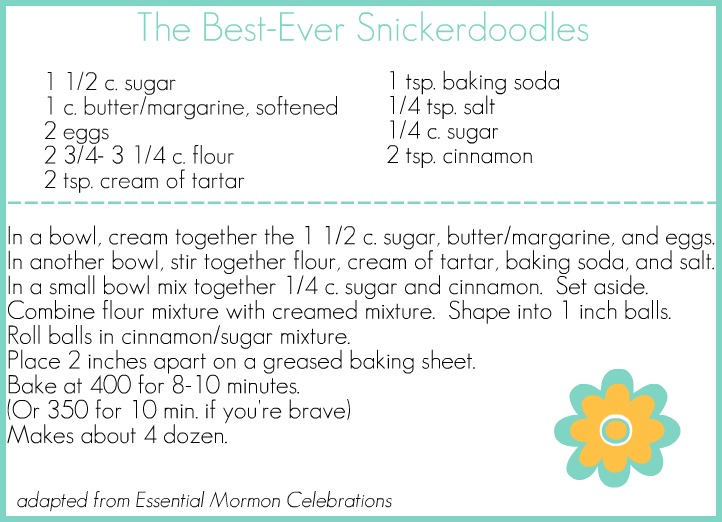 The Best Snickerdoodle Recipe Ever Occasionally Crafty The Best Snickerdoodle Recipe Ever
