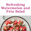 MyBestBadi: Watermelon and Feta Salad