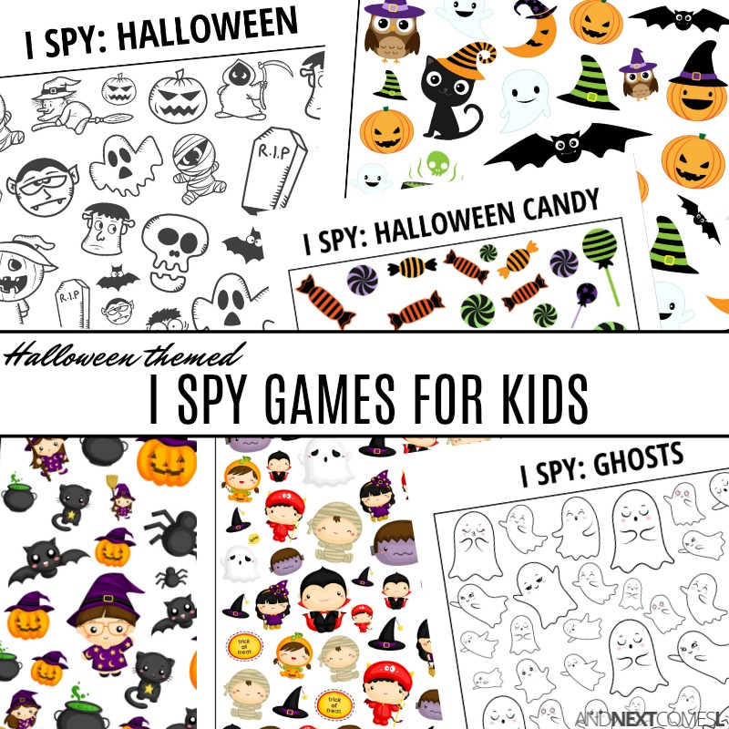 Halloween I spy games