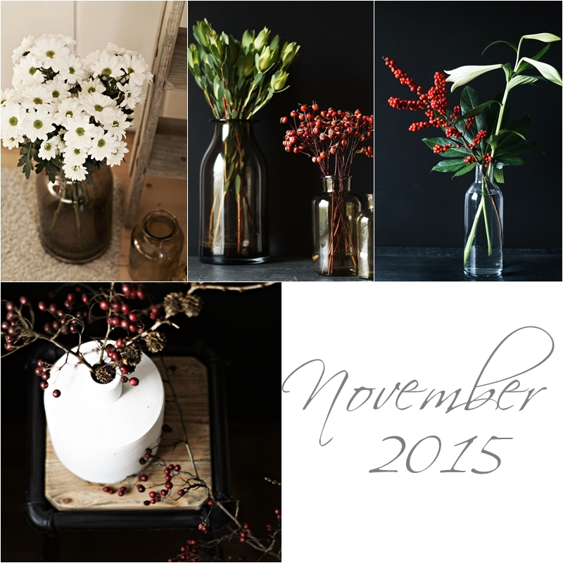 Blog + Fotografie by it's me! - Collage Friday Flowerday - November 2015