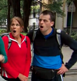 Official: Margie and Luke Eliminated from The Amazing Race