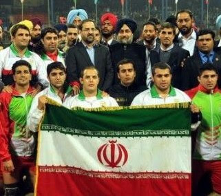 Iran Kabaddi Schedule in World Cup 2016