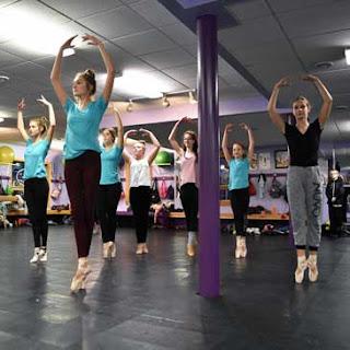 Northwoods Dance Studio with Greatmats marley dance flooring and subfloor