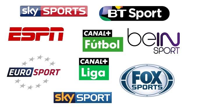 Full List Sports Channels (5) - 2018
