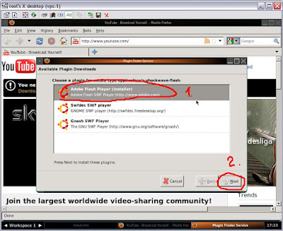 installing adobe flash player ubuntu firefox