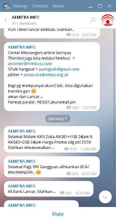 Rating: channel film di telegram