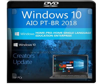 Windows 10 AIO Fall Creators 2018