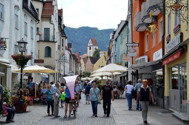 itinerario per i castelli della Baviera