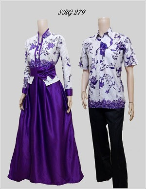 Model Gamis Batik