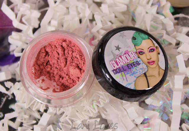 Glamour Doll Eyes Solar Flares Blush Swatches & Review