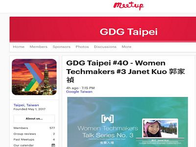 GDG Taipei Women Techmakers