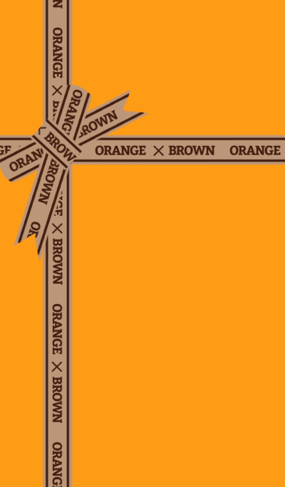 ORANGE x BROWN