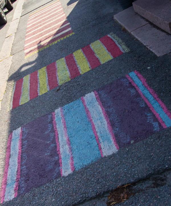 loviisa maalatut kadut maalattu matto