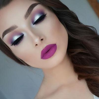 Maquillaje para NAVIDAD juvenil fácil y sencillo