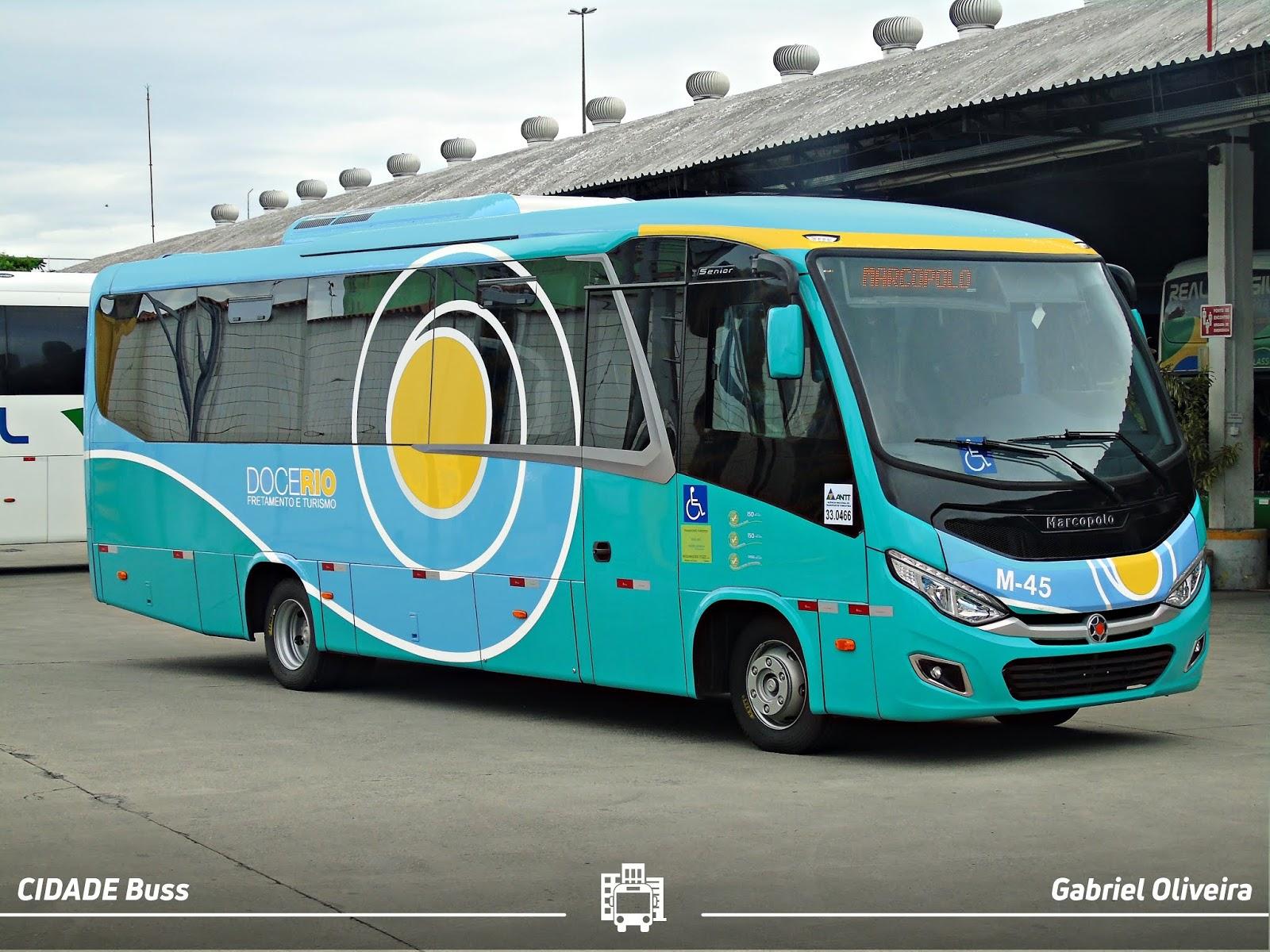 Ônibus de Turismo Doce Rio