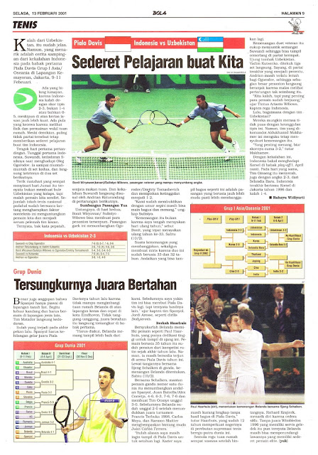 PIALA DAVIS INDONESIA VS UZBEKISTAN
