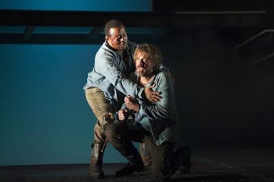 John-Colyn Gyeantey, Grant Doyle - Gluck: Iphigenie en Tauride - English Touring Opera - photo Richard Hubert Smith
