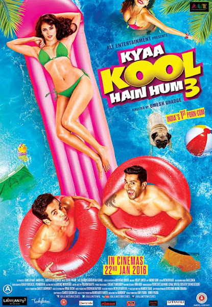 Poster of Kyaa Kool Hain Hum 3 (2016) 720p Hindi DVDRip Full Movie Download
