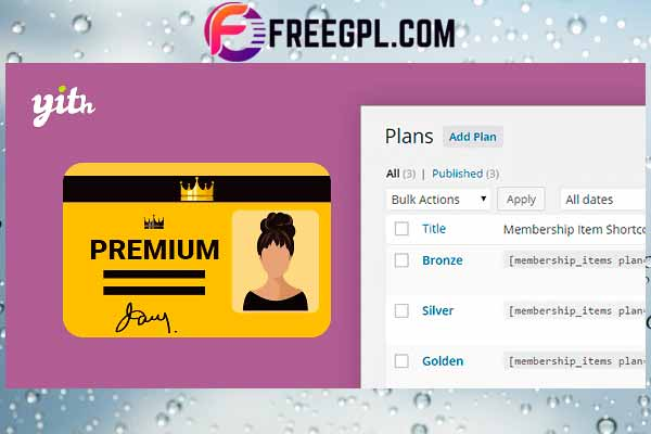 YITH WooCommerce Membership Premium Free Download