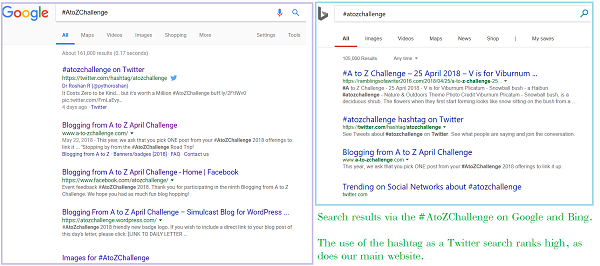 #atozchallenge search results image
