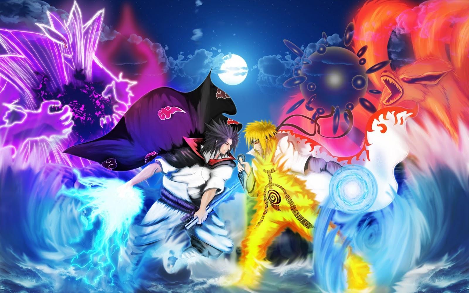 Background Naruto 3D đẹp nhất cho máy tính.