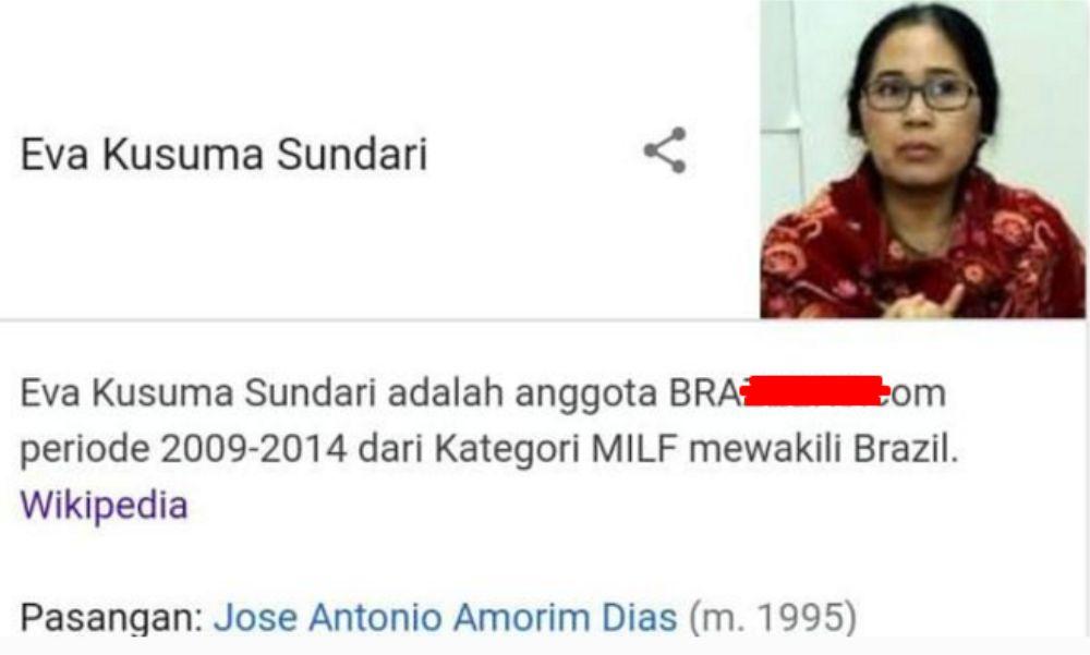 Politikus PDI Eva Sundari