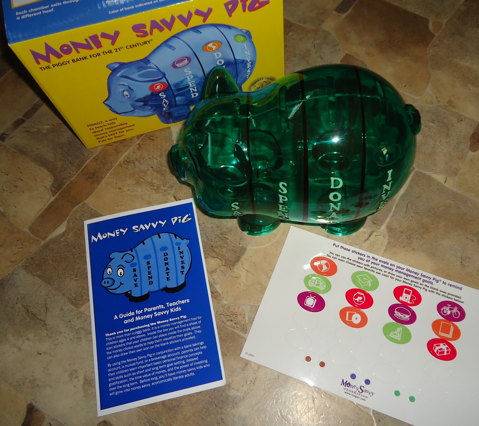 Plastikbank Fishful Thinking Money Savvy Pig Bank Giveaway Review