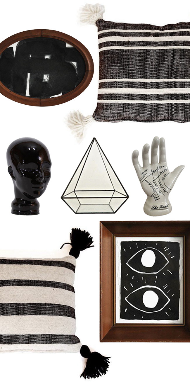 Halloween Decorating Tips with Vintage Items