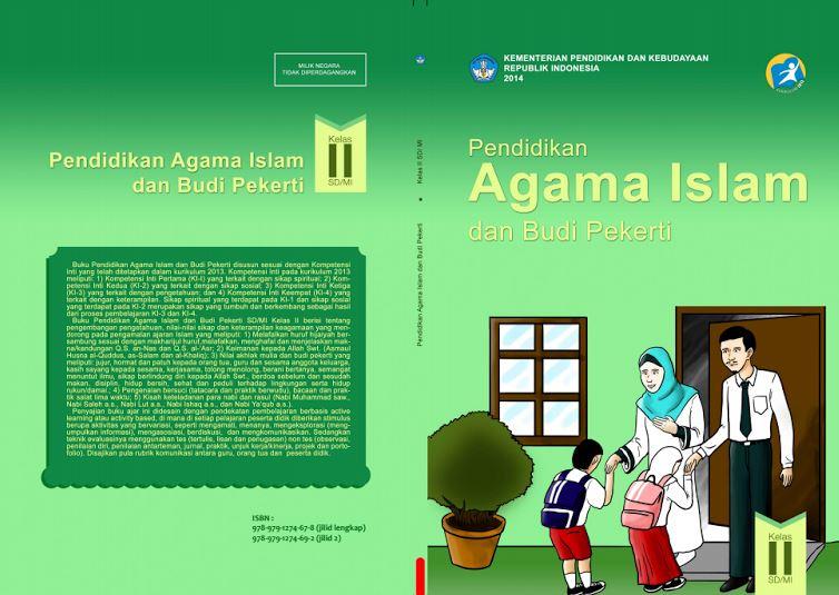 Download Gratis Buku Guru dan Buku Siswa Pendidikan Agama Islam dan Budi Pekerti SD Kelas 2 Kurikulum 2013 Format PDF