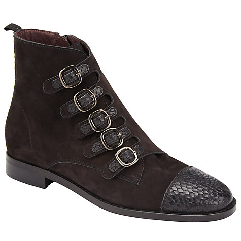 Somerset by Alice Temperley Prestleigh buckle ankle boots
