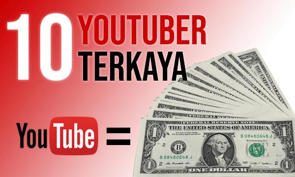10 YouTuber Terkaya dunia