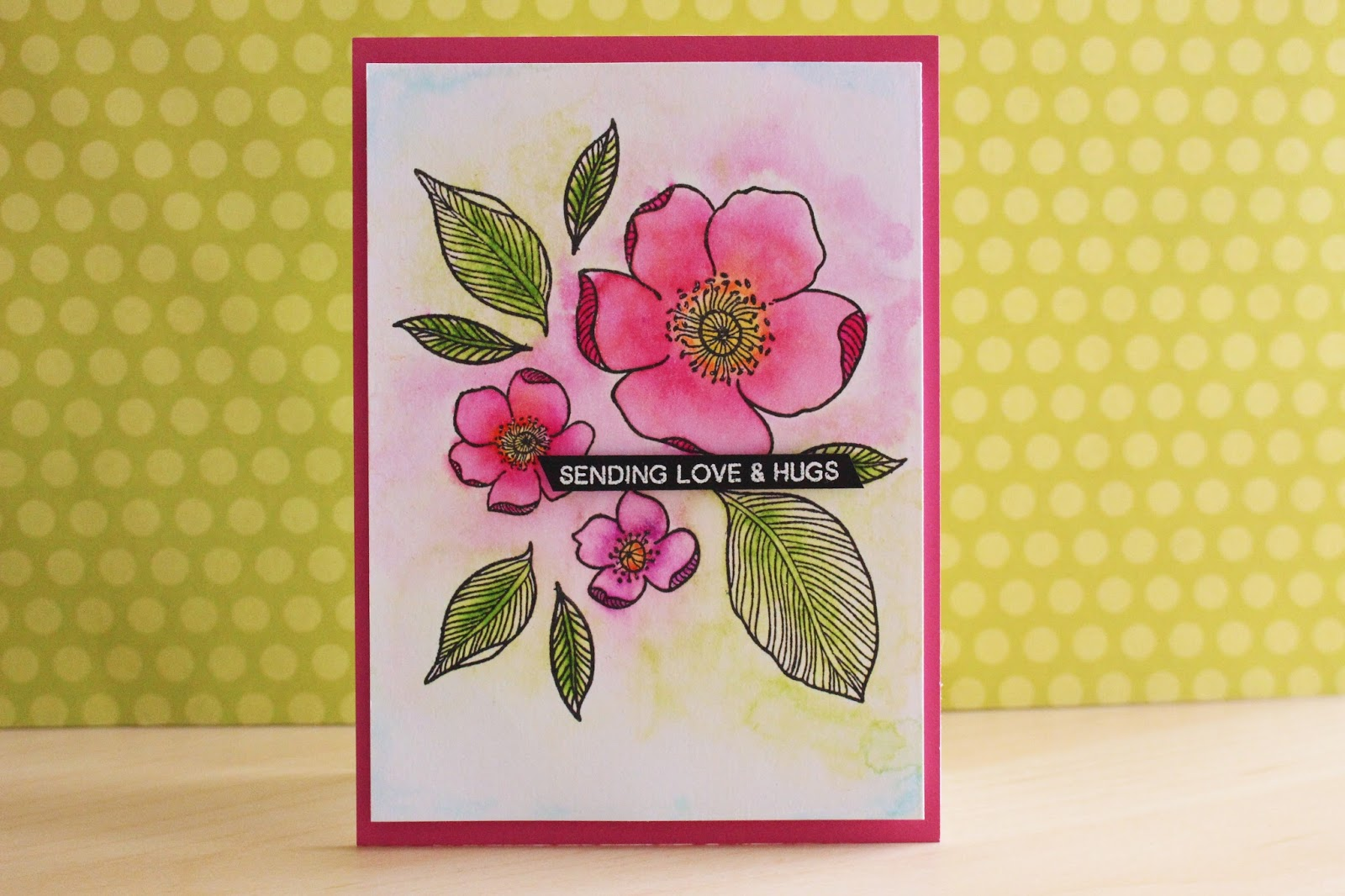 Sending Love And Hugs Video Ellas Cards