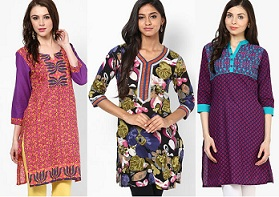 Women's Kurta / Kurti / Leggings & more : Min 60% Off – upto 75% Off + Extra 10% Off @ Jabong