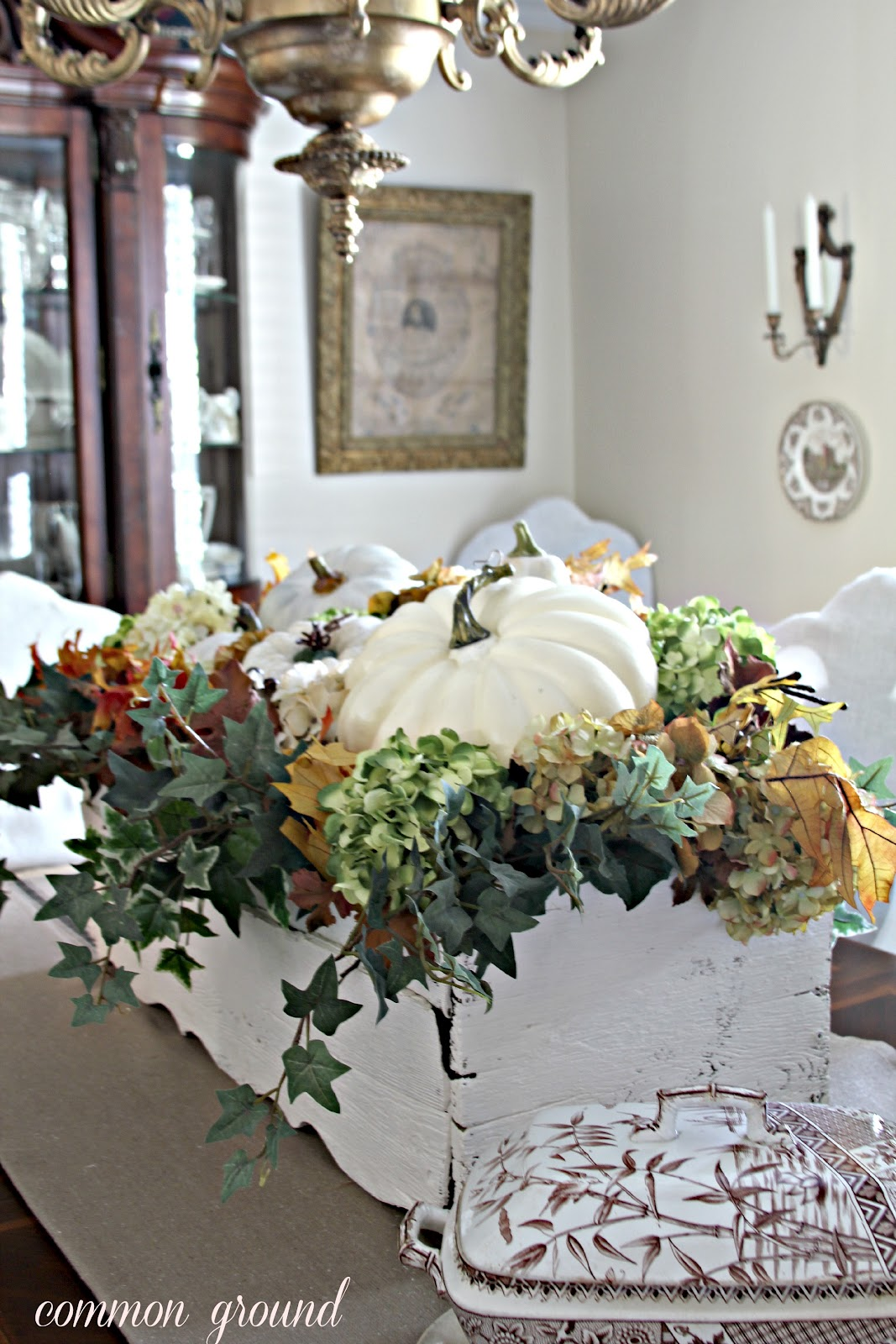 common ground : Window Box Centerpiece for Fall