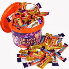 Halloween sweet treats from cadbury