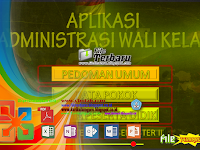 Aplikasi Administrasi Wali Kelas Lengkap