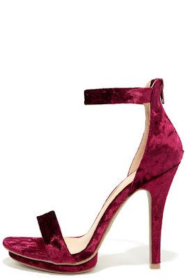 zapatos rojos bellos