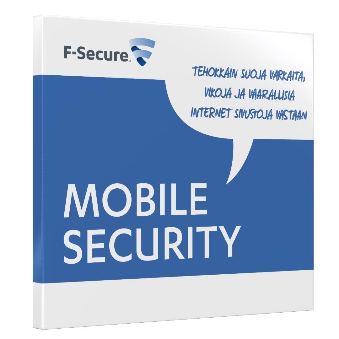 F-Secure Anti-Virus 2013 mobile security