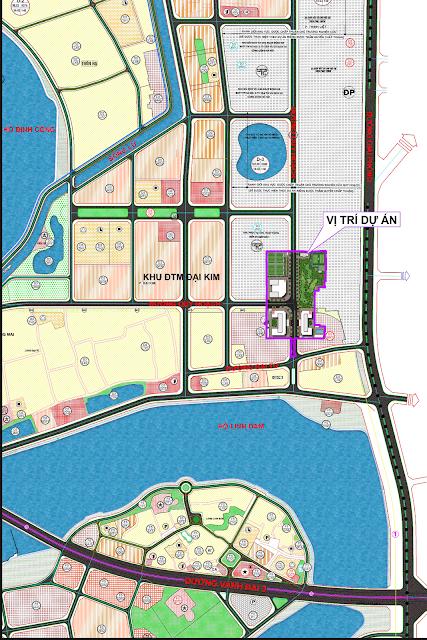 Quy hoạch dự án Eco Lake View