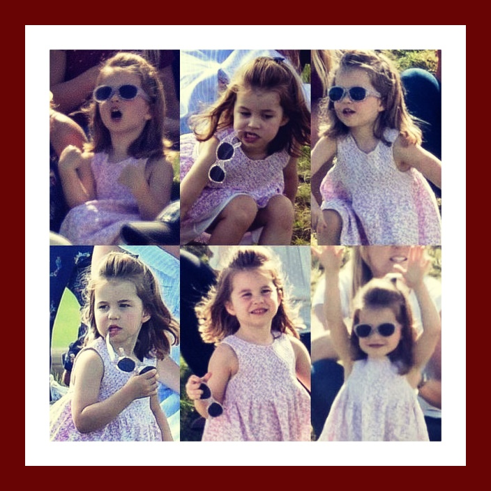 Princess Charlotte is Growing  up Fast!!!!!