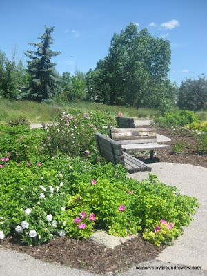 Elliston Park Rose Garden, Calgary