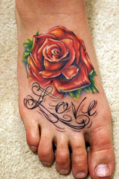 wallpapers star collection: Crazy Tattoos for feet