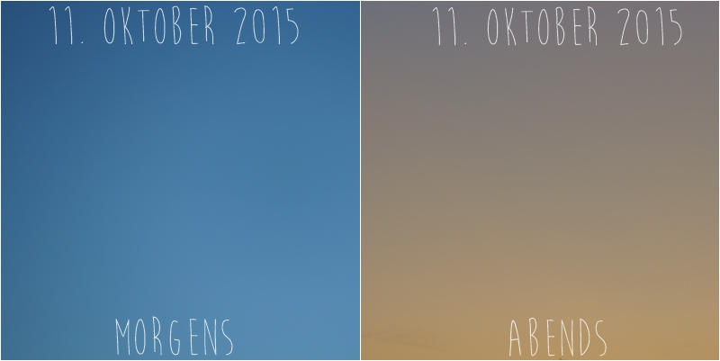 Blog + Fotografie by it's me! - Himmel am 11.10.2015