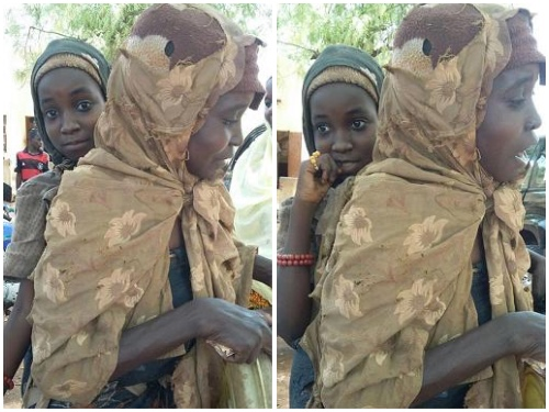 Photos: Daughter Of Insane Woman Adopted By Wife Of Kebbi State Governor