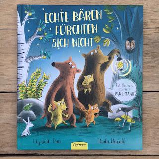 Kinderbuch Echte Bären fürchten sich nicht mit Reimen von Paul Maar