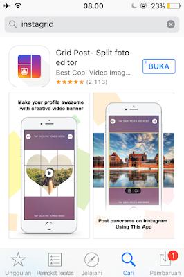 Tutorial Membuat Foto Grid Menyambung di Instagram 2